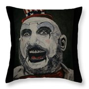 The Good Captain Throw Pillow