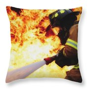 The Good Fight Throw Pillow