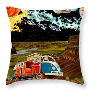 The Gorge-one Sweet World Throw Pillow