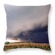 The Great Plains Throw Pillow