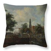 The Haarlem Lock Amsterdam Throw Pillow