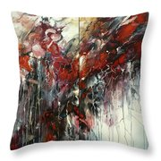 The Heart Of Chaos Throw Pillow