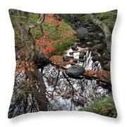 The Heart Of The Forest Throw Pillow