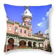 The Henry B. Plant Museum Tampa Fl Throw Pillow