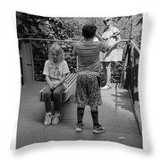 The High Line 162 Throw Pillow
