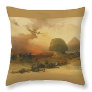 The Holy Land, Syria, Throw Pillow