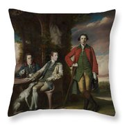 The Honorable Henry Fane With Inigo Jones And Charles Blair Throw Pillow