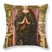The Immaculate Conception Throw Pillow