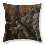 The Introduction Of The Cult Of Cybele At Rome Throw Pillow