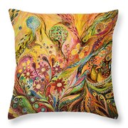 The Life Of Butterfly Throw Pillow