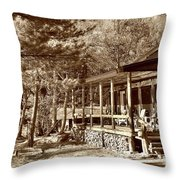 The Lodge Throw Pillow