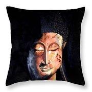 The Madas Buddha Throw Pillow