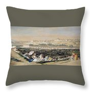 The Meadow Of San Isidro Throw Pillow
