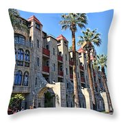 The Mission Inn  Throw Pillow