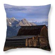 The Molton Barn Throw Pillow