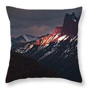 The Moment Before Dark Throw Pillow