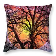 The Moon And The Stars For You Throw Pillow