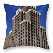 The National Archives Building - St Louis Throw Pillow