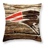 The New England Patriots 3a Throw Pillow