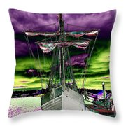 The Nina 2 Throw Pillow