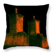 The Old City Gates Throw Pillow