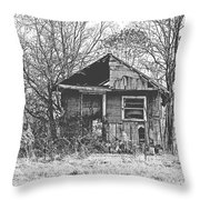 The Old Home Place Throw Pillow