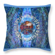 The Origin Throw Pillow