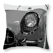 The Original Vette Throw Pillow