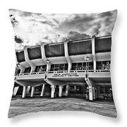 The P Mac - Bw Throw Pillow