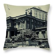 The Pacific - Union Club Throw Pillow