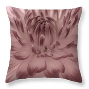 The Painted Flower Throw Pillow