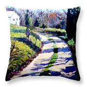 The Path To Huntley Throw Pillow