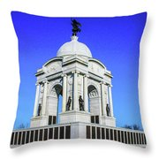 The Pennsylvania Monument Throw Pillow