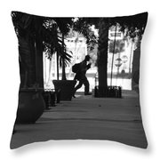 The Post Man Throw Pillow