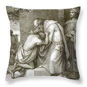 The Prodigal's Return Throw Pillow