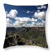 The Pulpit Rock Lookout Throw Pillow