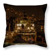 The Radcliffe R. Latimer Throw Pillow