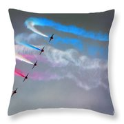 The Rainbow Makers Throw Pillow