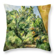 The Red Rock Throw Pillow