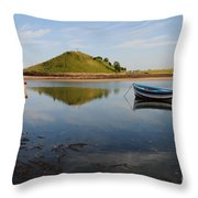 The River Aln Throw Pillow