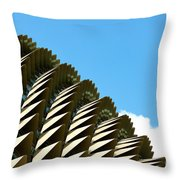The Roof  Throw Pillow by Yew Kwang