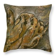 The Salute Throw Pillow