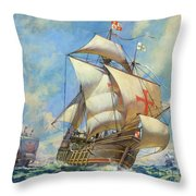 The Santa Maria Throw Pillow