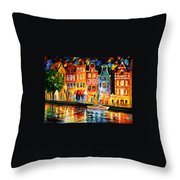 The Sky Of Amsterdam Throw Pillow