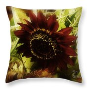 The Softness Of Autumn Throw Pillow