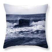 The Song Of The Ocean Throw Pillow