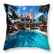 The Southernmost House Throw Pillow