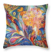 The Spirit Of Jerusalem Throw Pillow