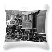 The Steam Engine  Throw Pillow