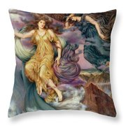 The Storm Spirits Throw Pillow